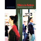 Cover image of Ethics in Action textbook